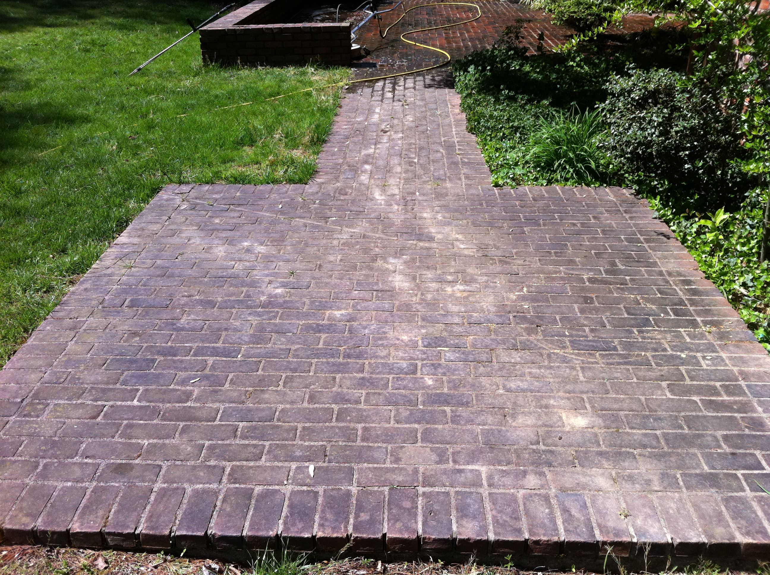 Brick Patio Cleaning In Lexington Ky 40502 Pressure